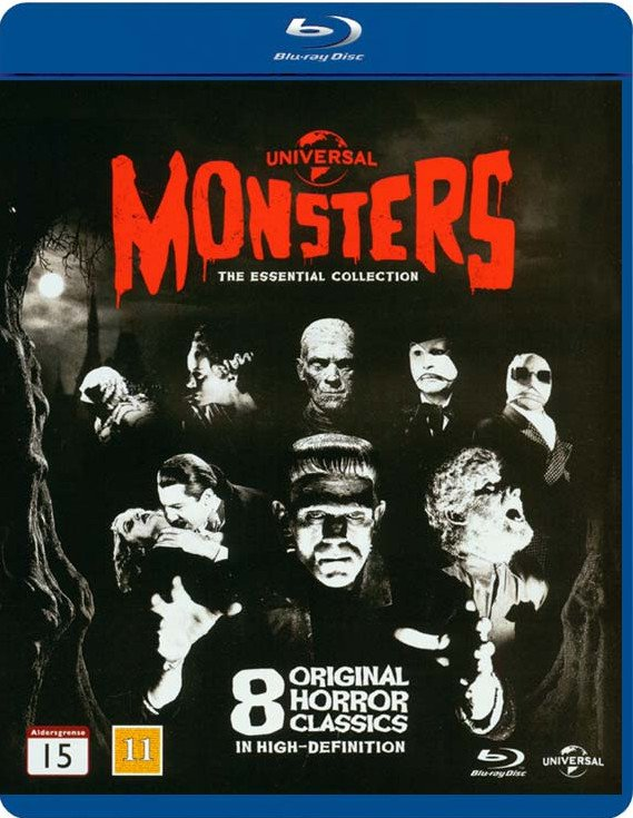 Image of   Monsters - The Essential Collection - Blu-Ray
