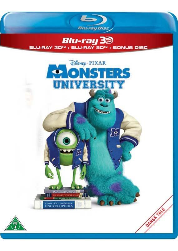 Image of   Monsters University - Disney Pixar (3d Blu-ray+blu-ray) -