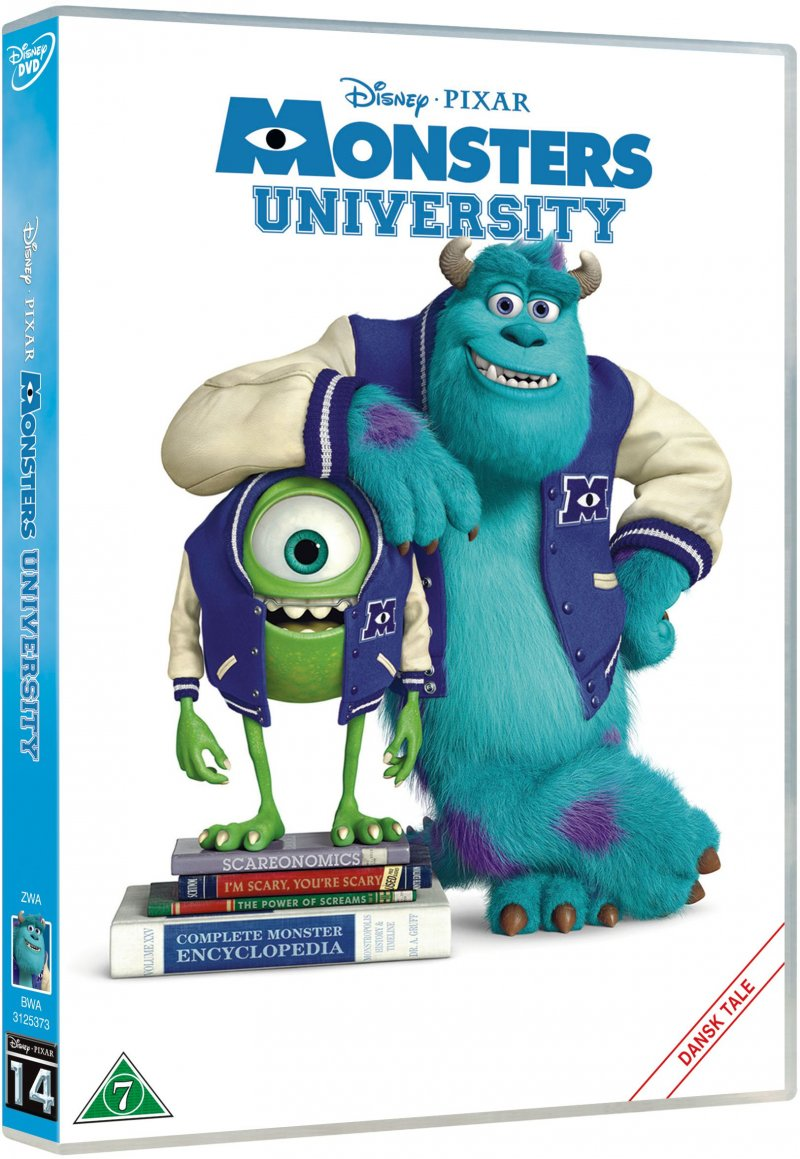 Billede af Monsters University - Disney Pixar - DVD - Film