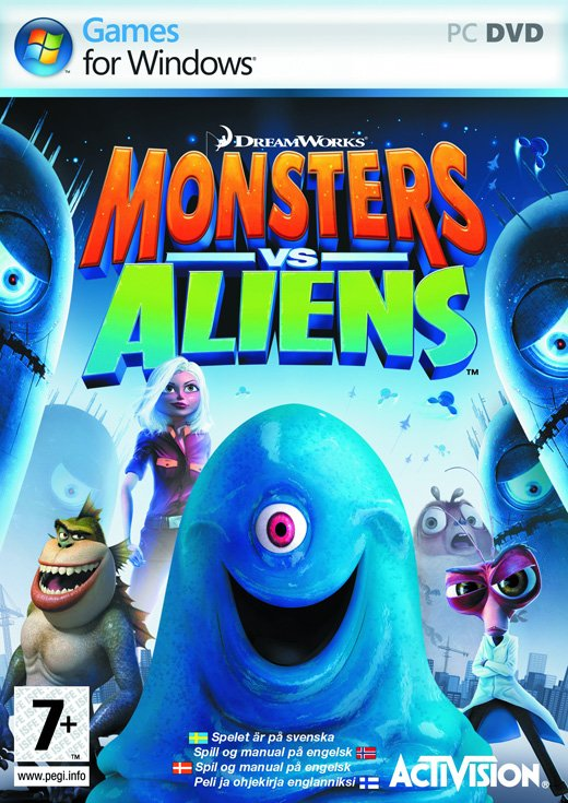 Image of   Monsters Vs. Aliens - PC