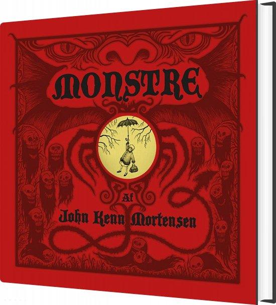 Monstre - John Kenn Mortensen - Bog