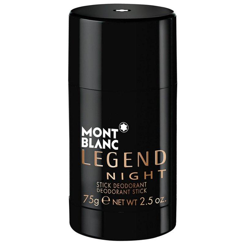 Image of   Mont Blanc Legend Night Deodorant Stick - 75 G