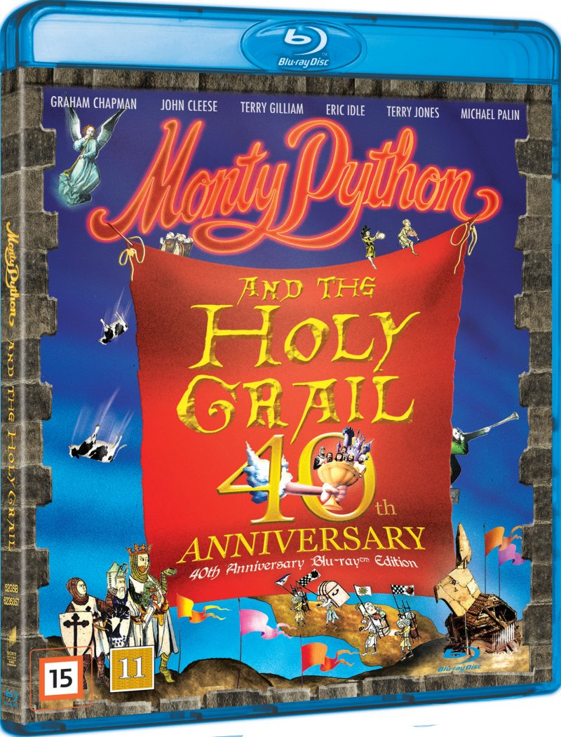 Image of   Monty Python And The Holy Grail - 40 års Jubilæums Udgave - Blu-Ray