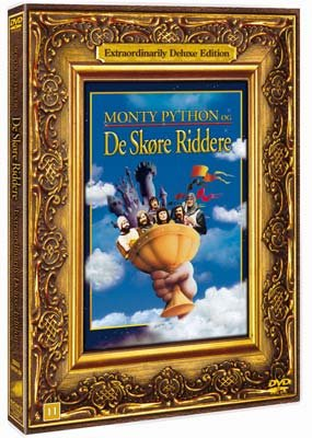 Image of   Monty Python And The Holy Grail - DVD - Film