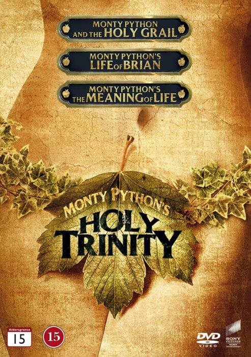 Image of   Monty Python Box Set - Holy Trinity Boks - DVD - Film