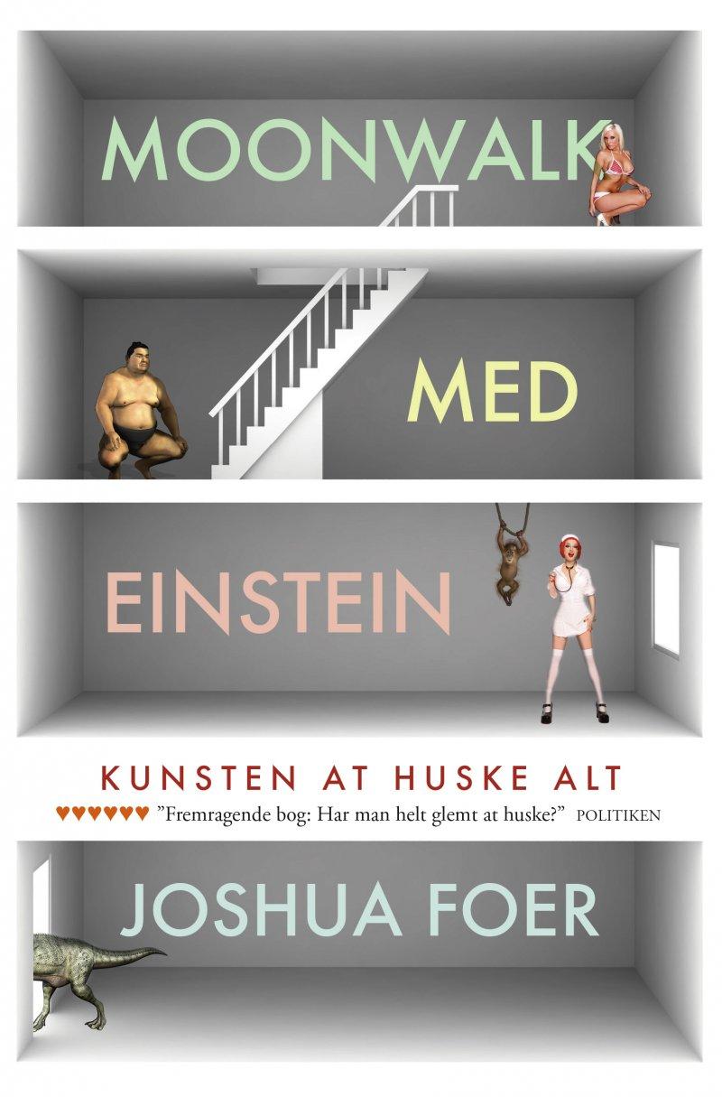 Image of   Moonwalk Med Einstein - Joshua Foer - Bog