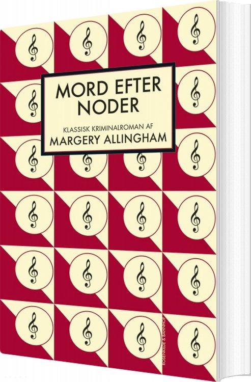 Billede af Mord Efter Noder - Margery Allingham - Bog
