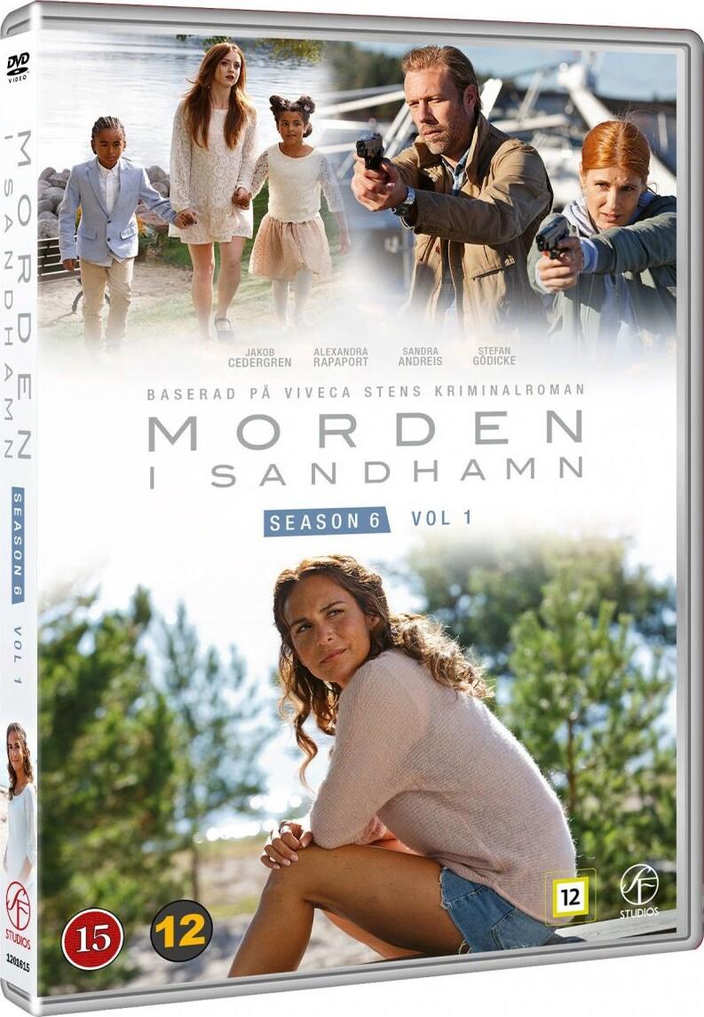 Billede af Mord I Skærgården / Morden I Sandhamn - Sæson  6 - Afsnit 1 Og 2 - DVD - Tv-serie