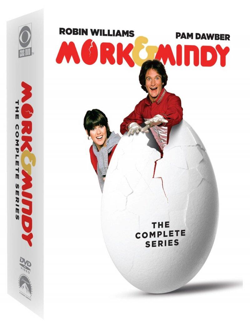 Image of   Mork Og Mindy - Komplet - Sæson 1-4 - DVD - Tv-serie
