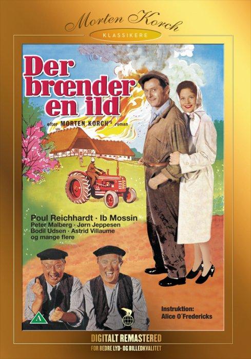 Image of   Der Brænder En Ild - Morten Korch - DVD - Film