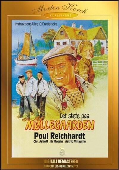 Image of   Det Skete På Møllegården - Morten Korch - DVD - Film