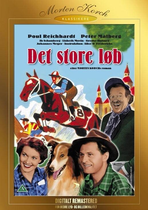 Billede af Det Store Løb - Morten Korch - DVD - Film