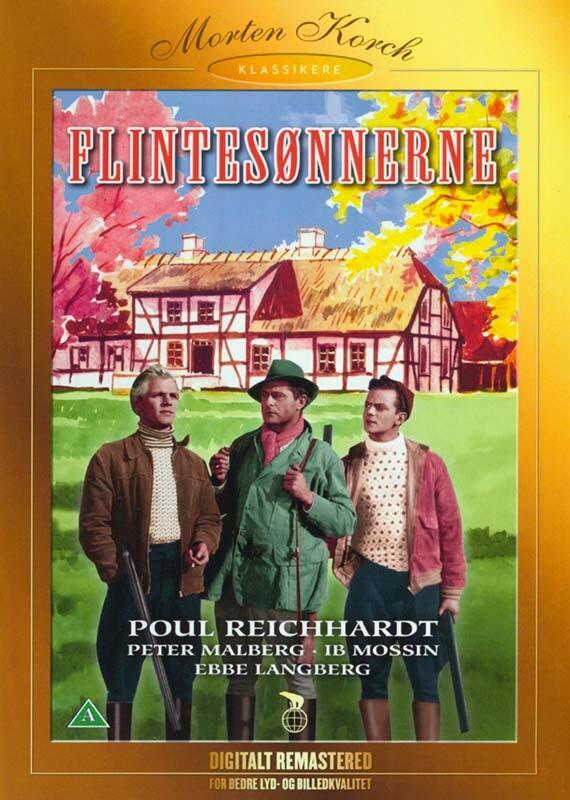 Image of   Flintesønnerne - Morten Korch - DVD - Film
