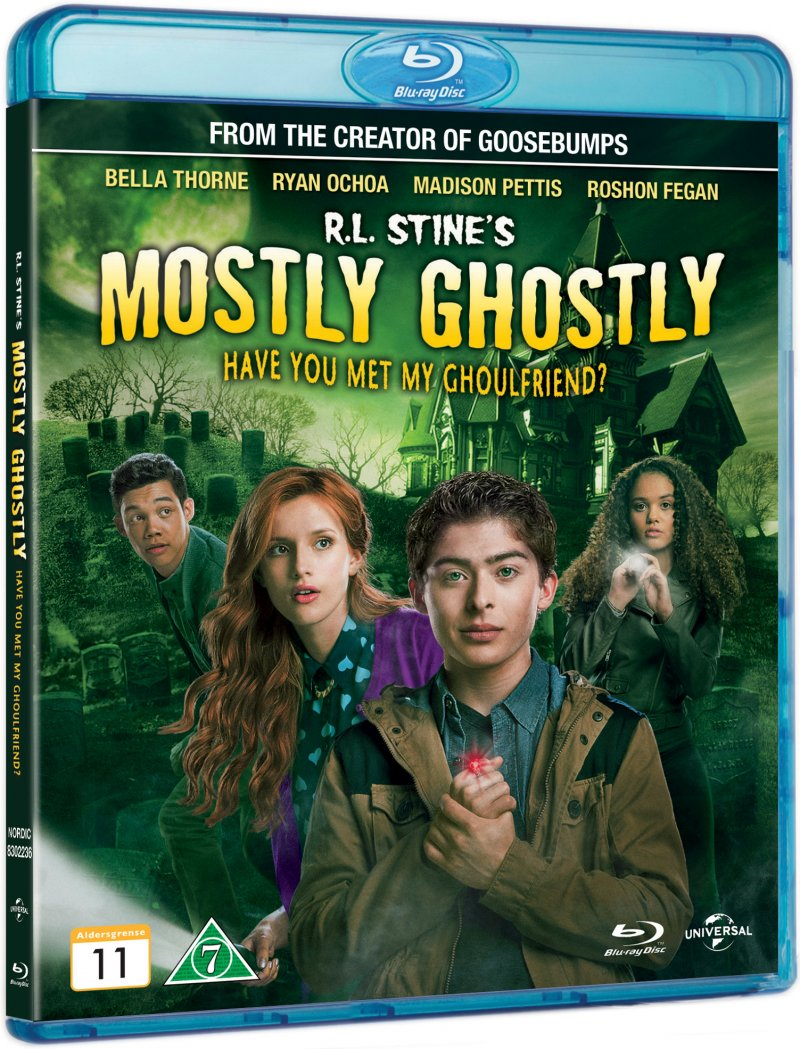 Image of   R.l. Stines Mostly Ghostly: Have You Met My Ghoulfriend? - Blu-Ray