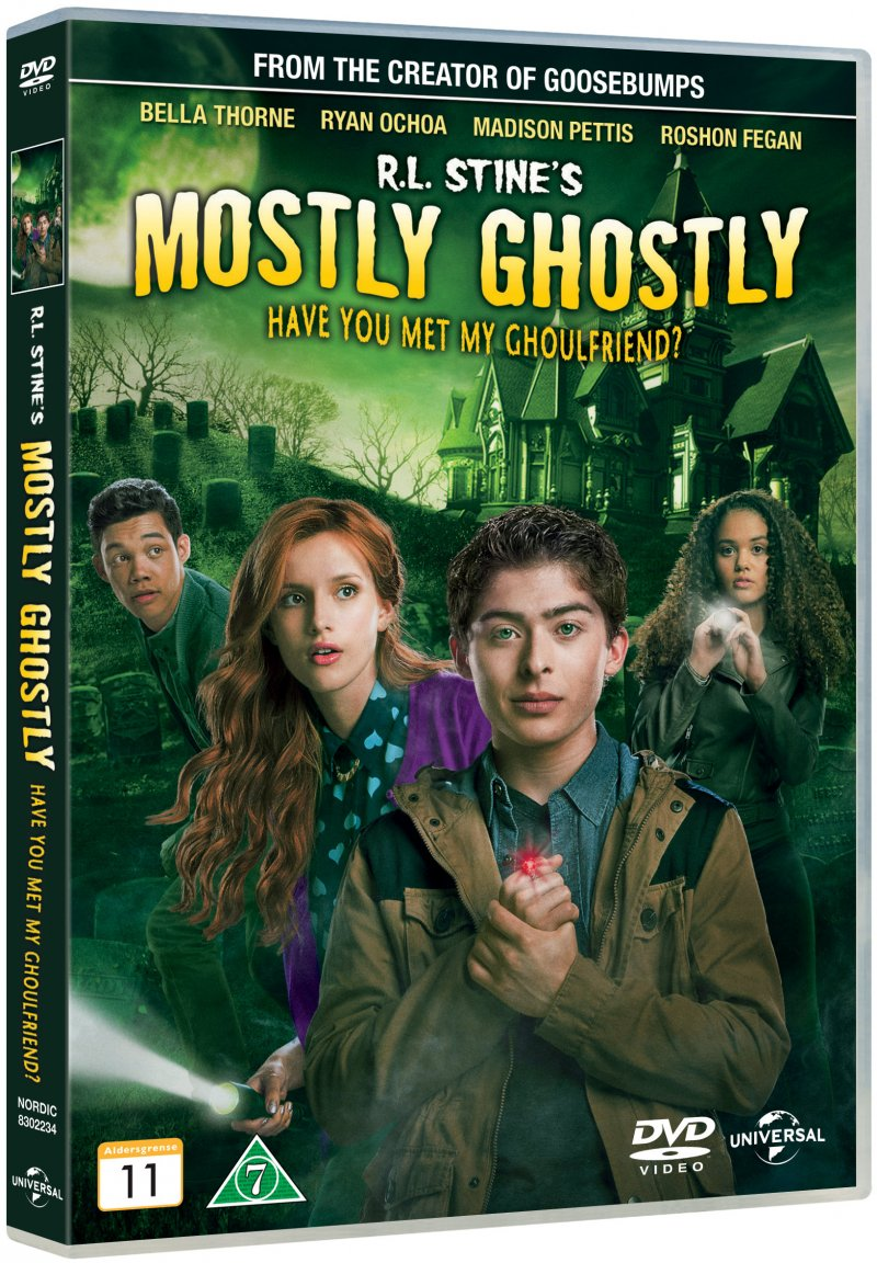 Image of   R.l. Stines Mostly Ghostly: Have You Met My Ghoulfriend? - DVD - Film