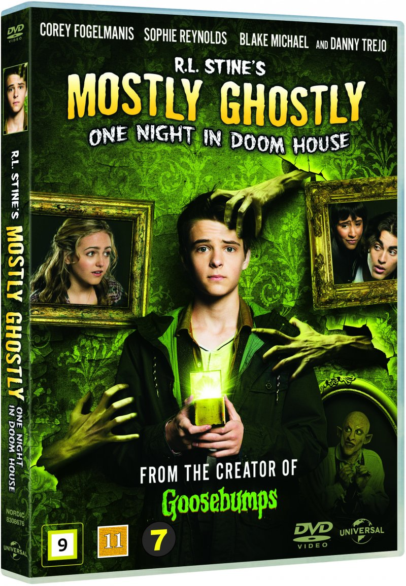 Image of   Mostly Ghostly: One Night In Doom House - DVD - Film
