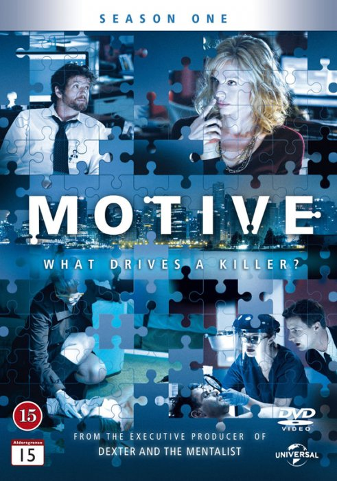 Image of   Motive - Sæson 1 - DVD - Tv-serie