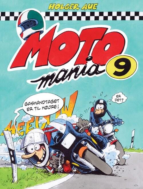Billede af Motomania 9 - Holger Aue - Tegneserie