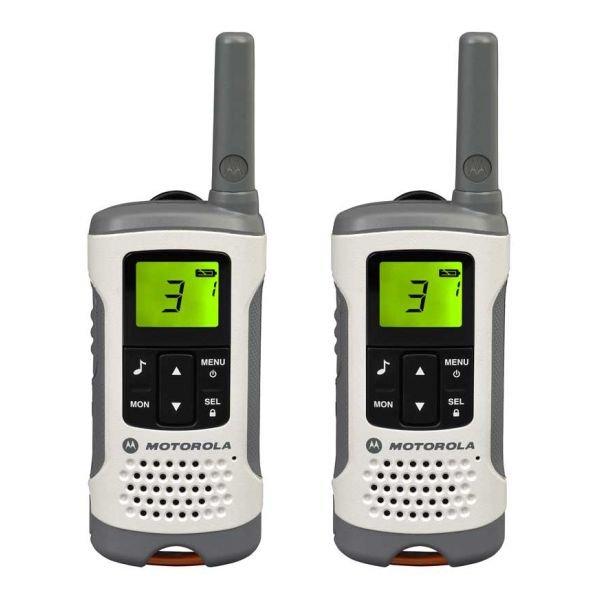 Image of   Motorola T50 Walkie Talkie Sæt Med 8 Kanaler - Hvid