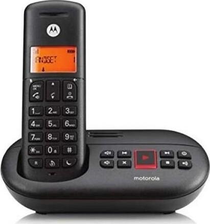Image of   Motorola - Trådløs Fastnet Telefon - E211 - Sort