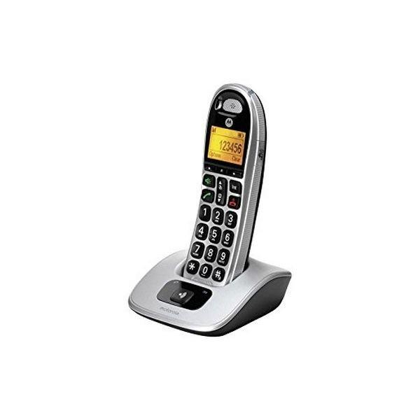 Image of   Motorola - Trådløs Fastnettelefon - Cd301 - Sølv