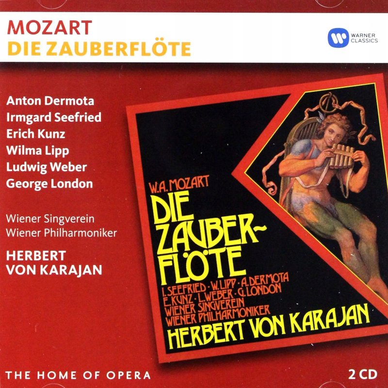 Image of   Herbert Karajan Von - Mozart: Die Zauberflöte - CD