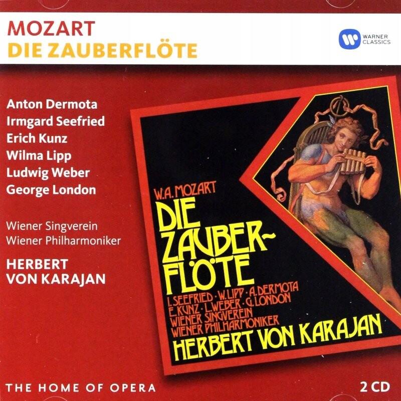Billede af Herbert Karajan Von - Mozart: Die Zauberflöte - CD
