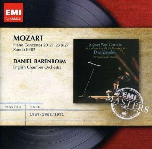 Image of   Daniel Barenboim - Mozart - Piano Concertos 20 / 21 / 23 / 27 - CD