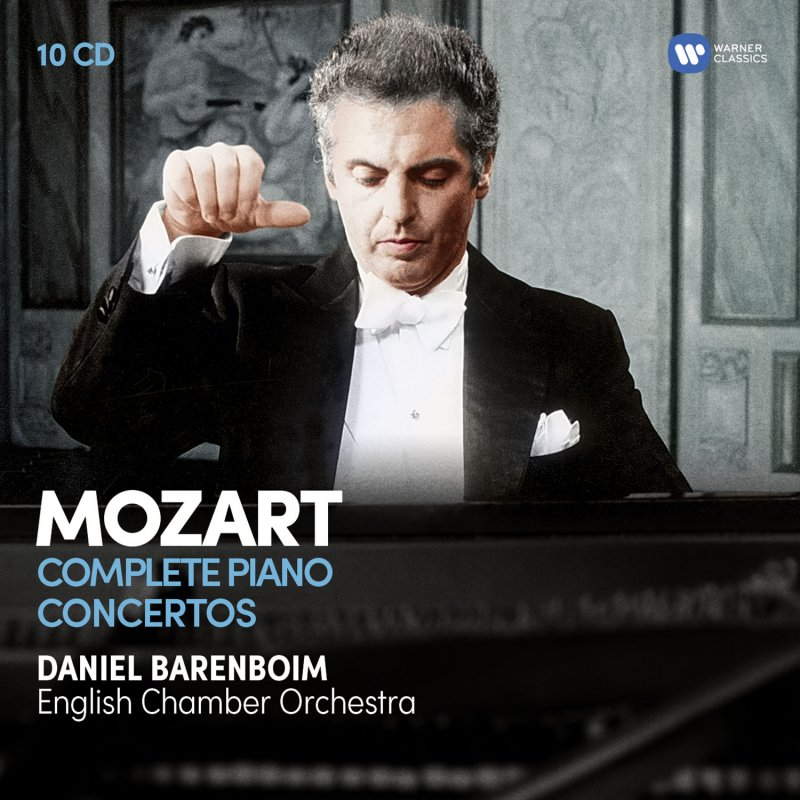 Image of   Daniel Barenboim - Mozart: The Complete Piano Concertos - CD