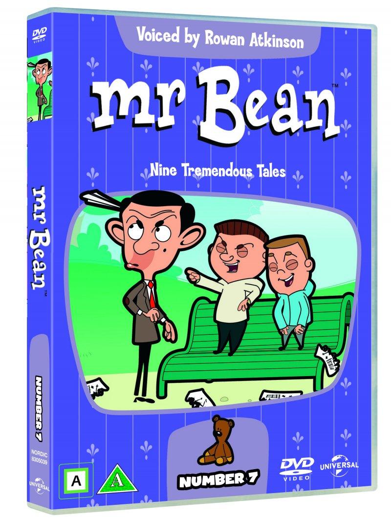Mr. Bean Bean 7 - 9 Fantastiske Eventyr - DVD - Film