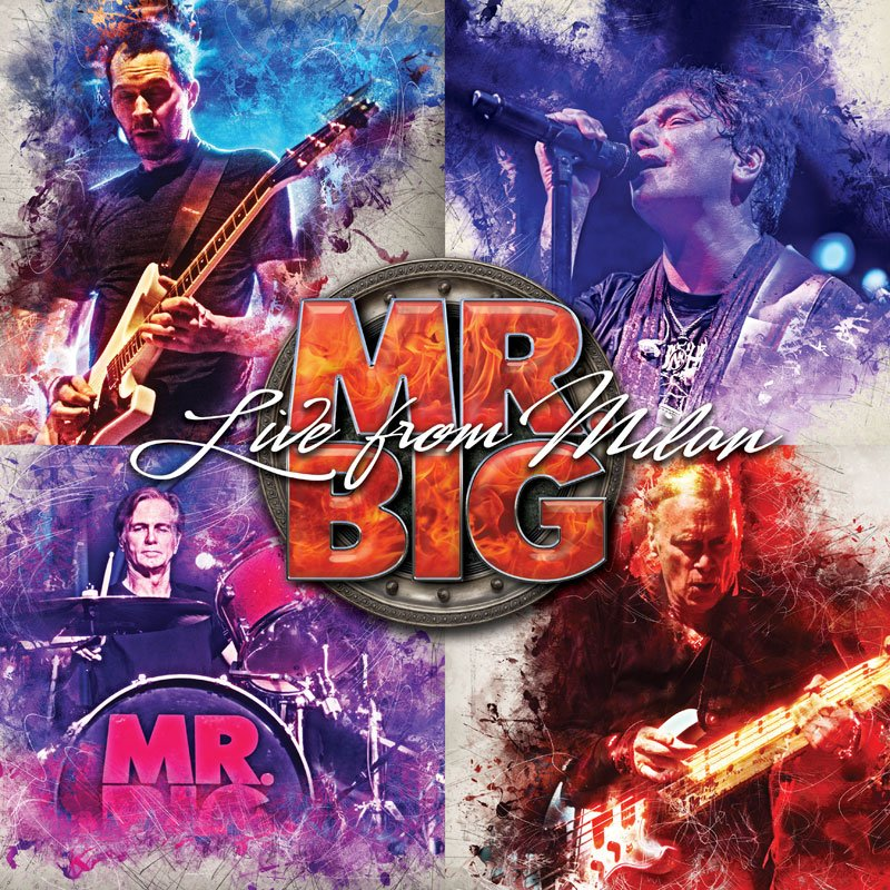 Mr. Big - Live From Milan (cd+blu-ray) - CD