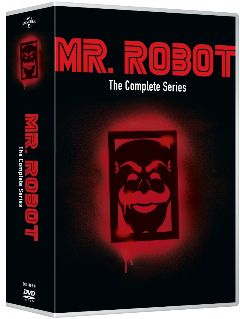 Image of   Mr. Robot - Sæson 1 - 4 - Den Komplette Serie - DVD - Tv-serie