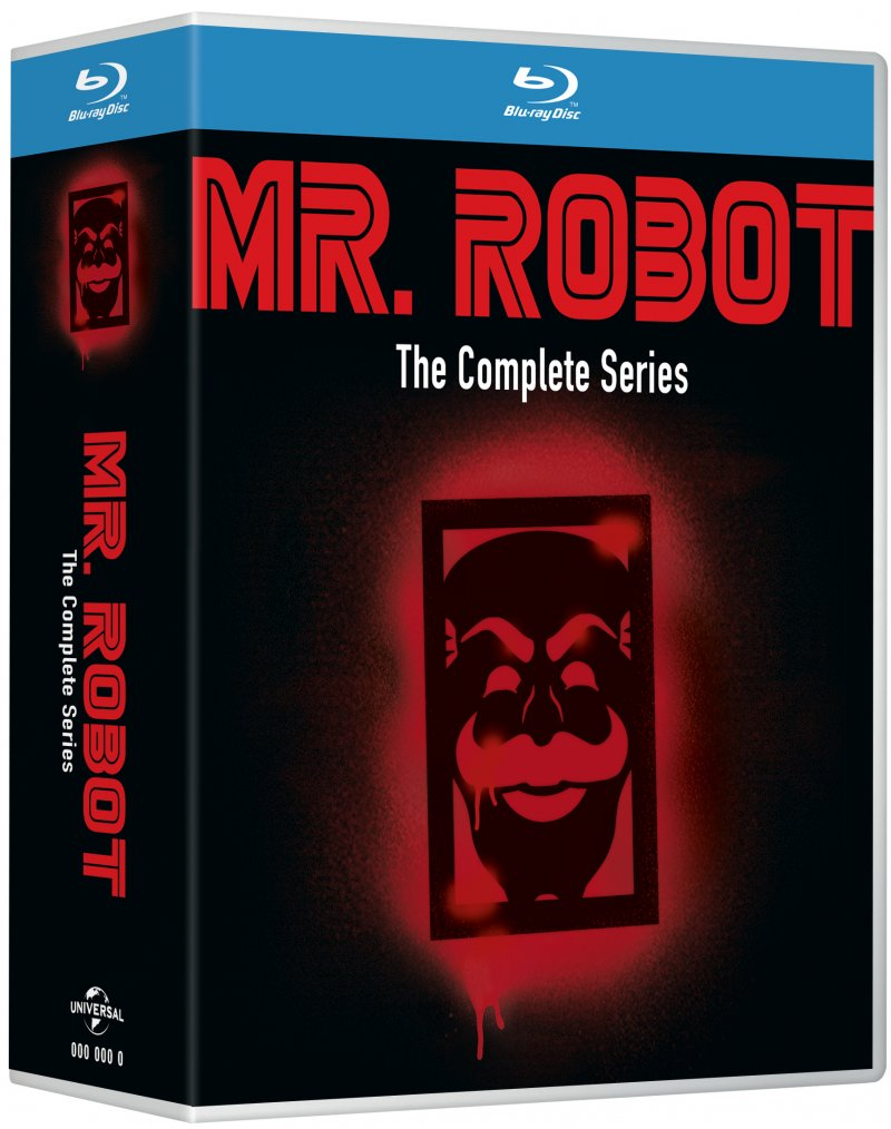 Image of   Mr. Robot - Sæson 1 - 4 - Den Komplette Serie - Blu-Ray - Tv-serie