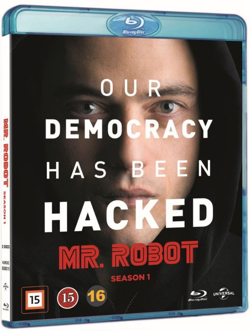 Mr. Robot - Sæson 1 - Blu-Ray - Tv-serie