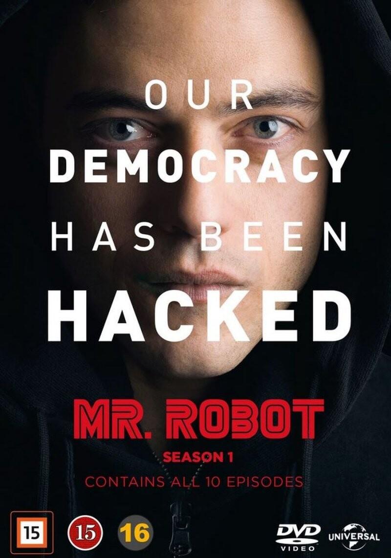 Image of   Mr. Robot - Sæson 1 - DVD - Tv-serie