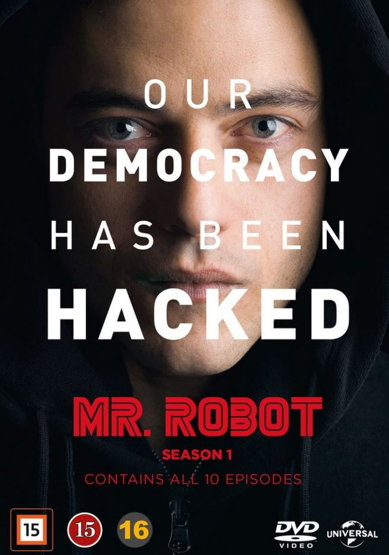 Image of   Mr. Robot - Sæson 1 - DVD - Tv-serie