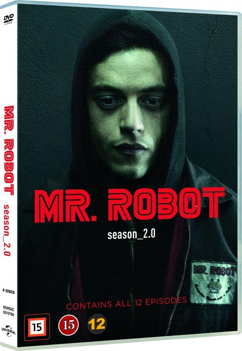 Image of   Mr. Robot - Sæson 2 - DVD - Tv-serie