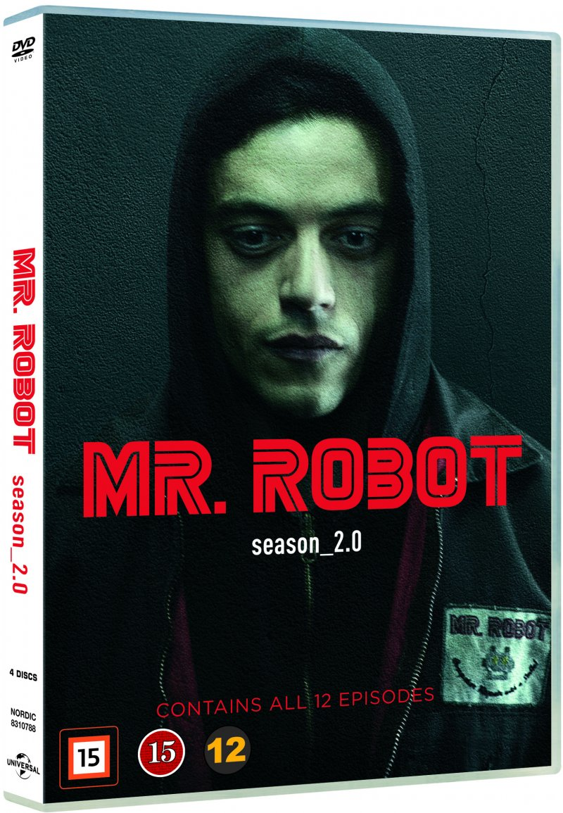 Image of   Mr. Robot - Sæson 2 - DVD - Tv-serie