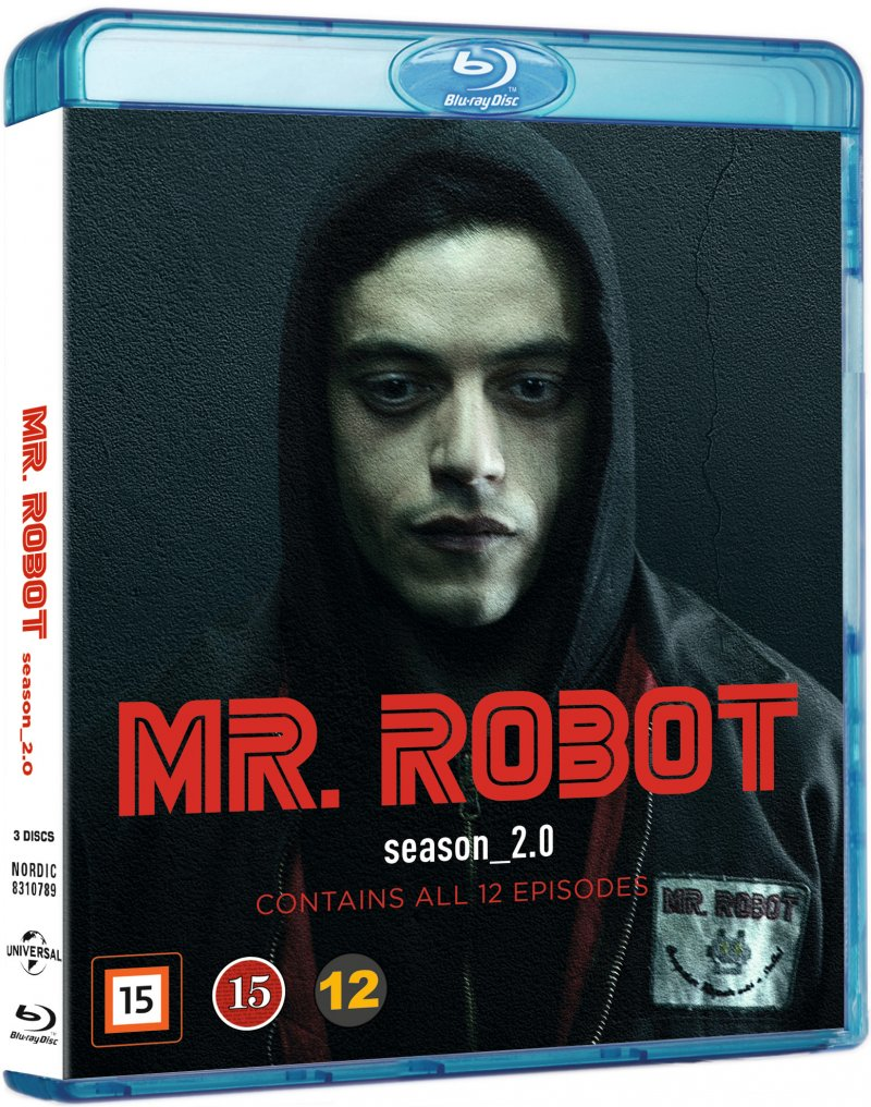 Image of   Mr. Robot - Sæson 2 - Blu-Ray - Tv-serie