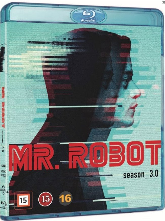 Image of   Mr. Robot - Sæson 3 - Blu-Ray - Tv-serie