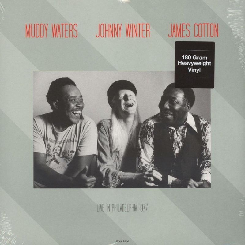 Image of   Muddy Waters & Johnny Winter - Live At Tower Theatre, Philadelphia, March 6, 1977 - Vinyl / LP