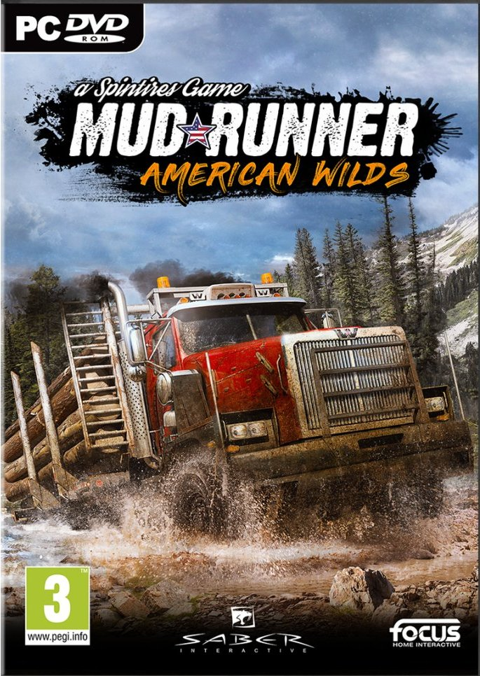Image of   Mudrunner - American Wilds Edition - PC