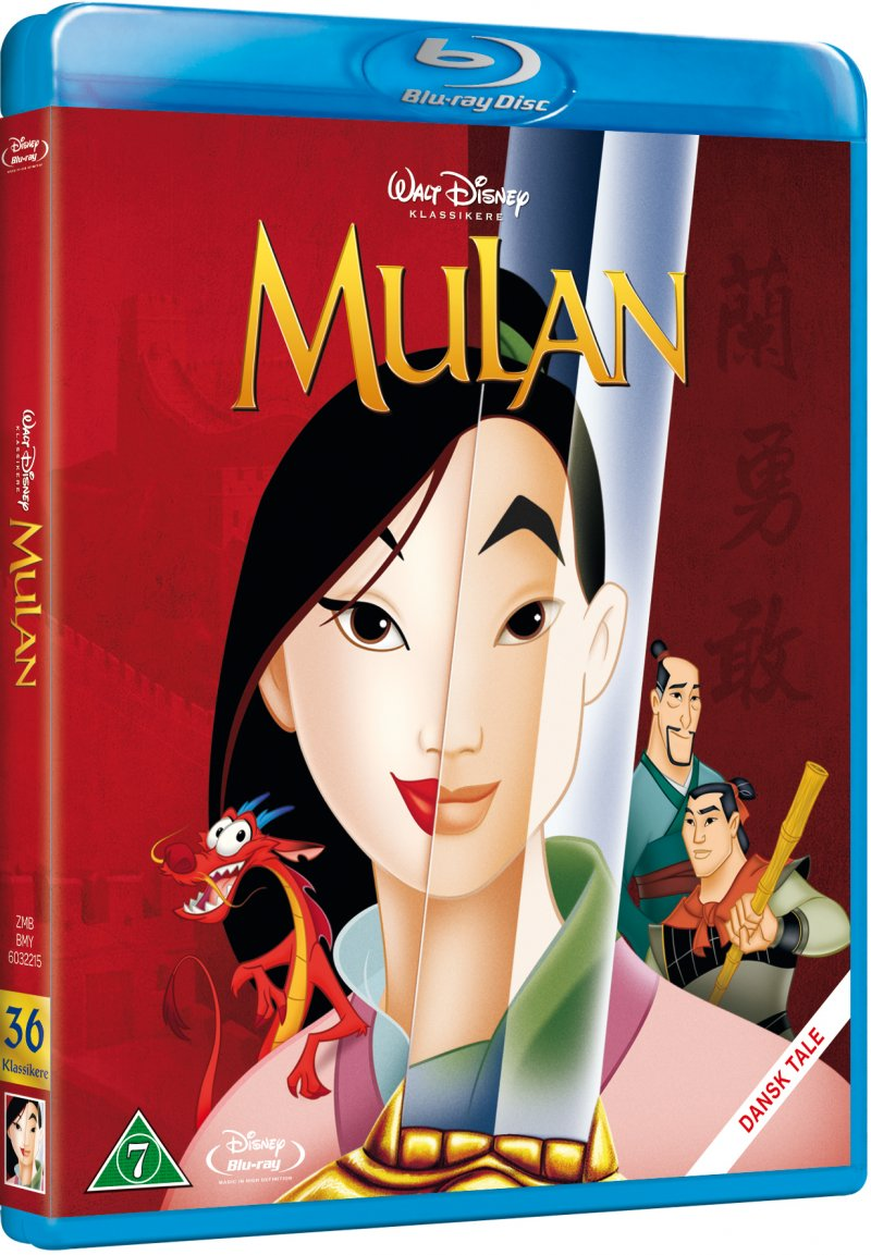 Image of   Mulan - Disney - Blu-Ray