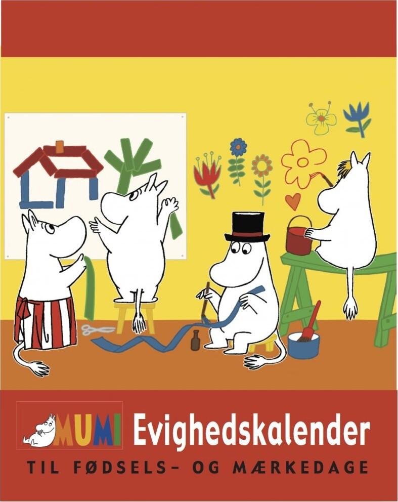 Image of   Mumi Evighedskalender
