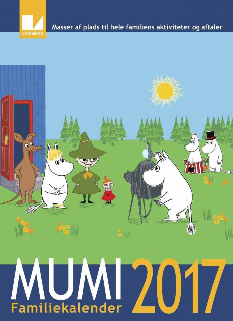 Image of   Mumi Familiekalender 2017