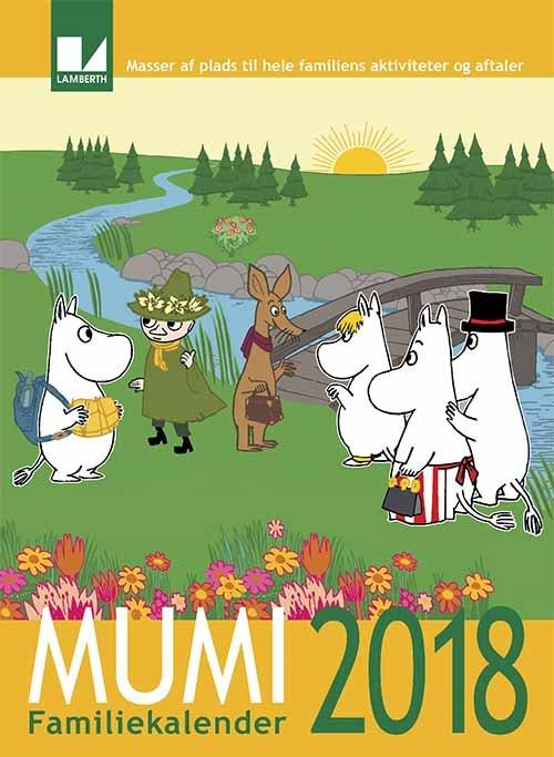 Image of   Mumi Familiekalender 2018