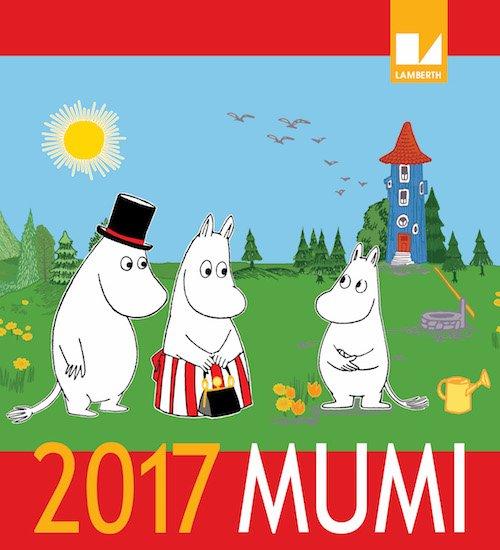 Image of   Mumi Kalender 2017