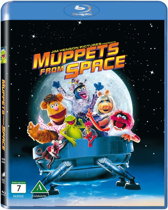 Image of   Muppets From Space - Blu-Ray
