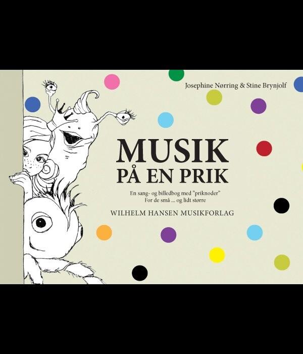 Musik På En Prik - Josephine Nørring - Bog