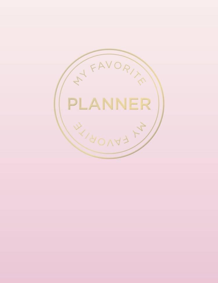 Image of   My Favorite Planner Bulletjournal